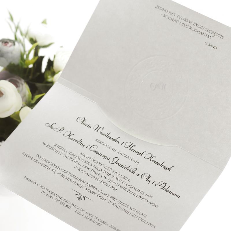 zaproszenie ślubne ornament3