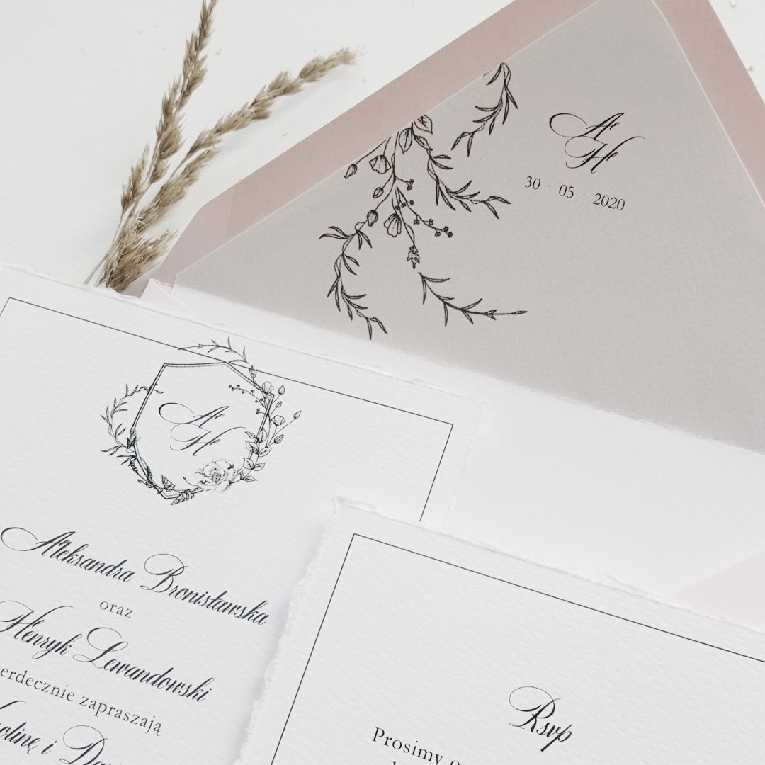 Zaproszenia Ślubne VINTAGE GARDEN
