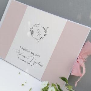 księga gości różowa